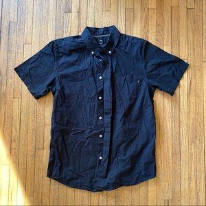 Obey Worldwide Polka Dot Short Sleeve Button Shirt